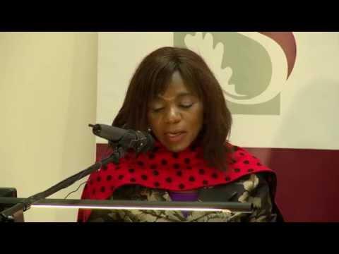 Maties Lusaka reunion - Keynote Prof Russel Botman & Adv Thuli Madonsela
