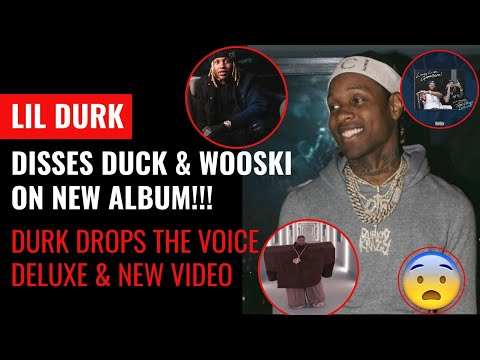 Lil Durk Disses FBG Duck & Wooski on New Song with Pooh Shiesty!! Drops Deluxe & Kanye Krazy Video!!