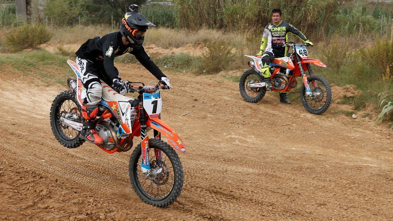 Primeros Pasos De Iniciación Al Motocross Con Joan Cros