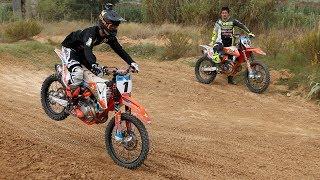 Primeros pasos de iniciación al Motocross, con Joan Cros
