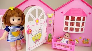 Baby doll house toy and Kinder surprise eggs play thumbnail