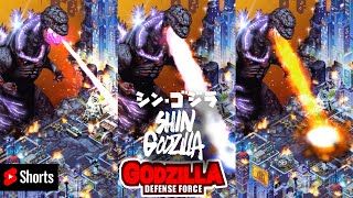 ALL Shin Godzilla Atomic Blast In New York シン・ゴジラ Godzilla Defence Force Youtube Shorts #shorts