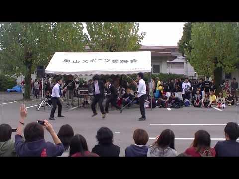 NON DA crew 岡山大学津島祭2014 Jumping Cats