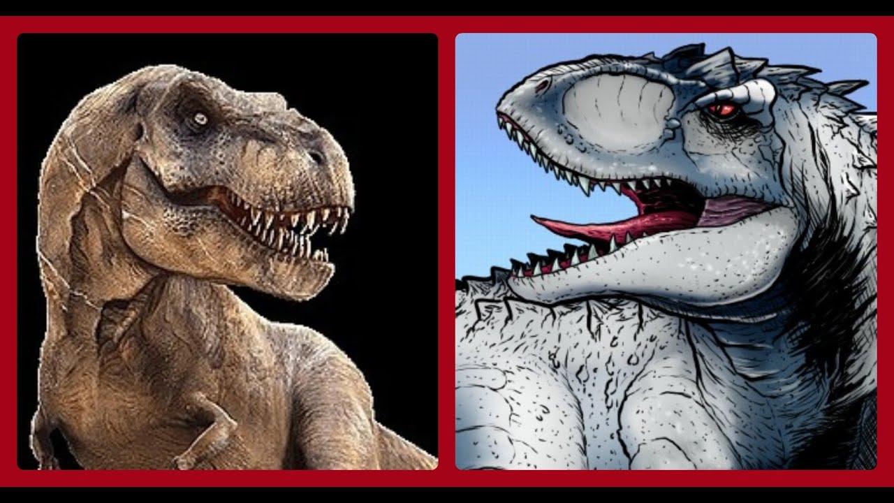 Jurassic World Will The Diabolus Rex Fight The T-Rex - YouTube
