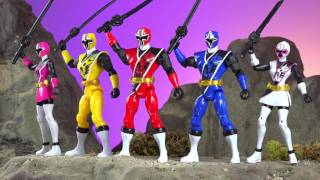 Power Rangers Ninja Steel is HERE!