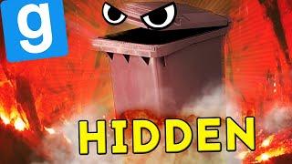 ZABIŁ MNIE MÓJ WŁASNY KOSZ NA ŚMIECI! | Garry's mod (With: EKIPA) #822 - Hidden [#65]
