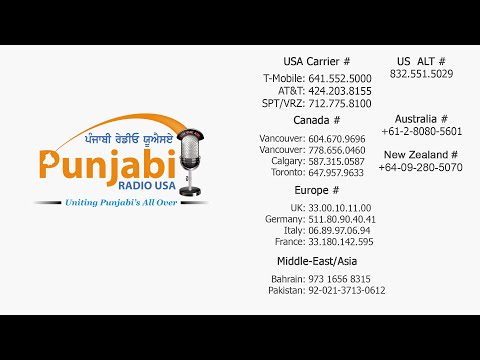 Punjabi Radio USA 2 July Live