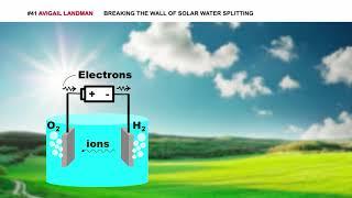 Avigail Landman - Breaking the Wall of Solar Water Splitting
