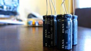 شرح تفصيلي للمكثفة واحد من عناصر الدارة الأساسي condensateur