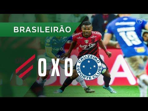 ATHLETICO-PR 0 X 0 CRUZEIRO - MELHORES MOMENTOS - 06/11 - CAMPEONATO BRASILEIRO 2019