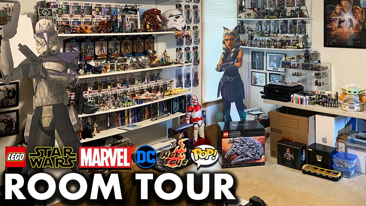 My LEGO, Star Wars, Marvel, DC, Hot Toys, & Funko Collection Tour (2020)