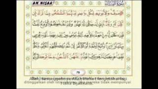 [7.46 MB] Juz 4- An Nisa' ayat 1 - 23 by Syeikh Ar Rifai (IPH's video collections)