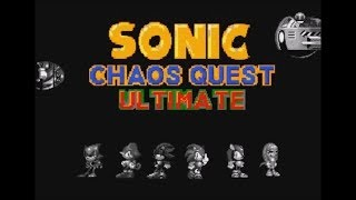 Sonic Chaos Quest Ultimate (Genesis) - Longplay as Mighty
