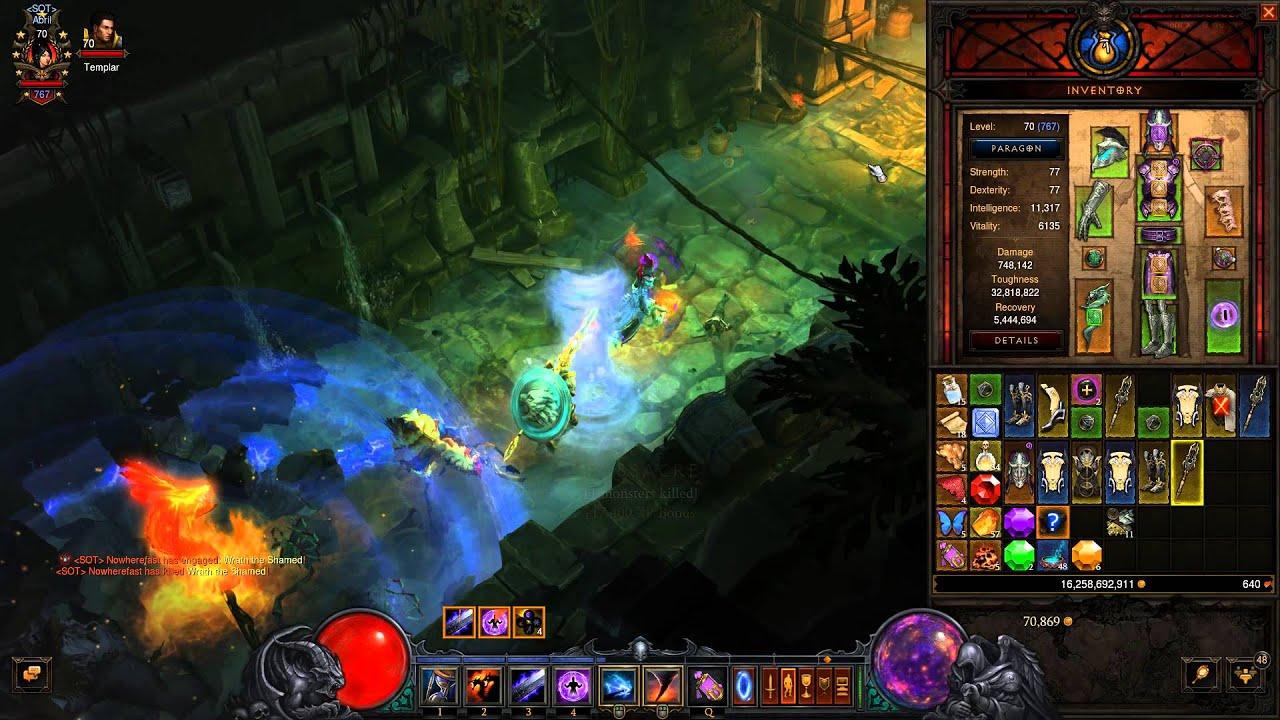 Diablo 3 Patch 2 3 Broken Promises Ring Test Youtube