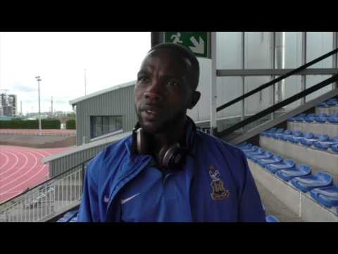 Mark Marshall's first interview as a Bradford City player