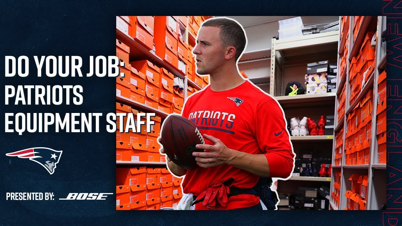 Behind the Scenes with the Patriots Equipment Staff