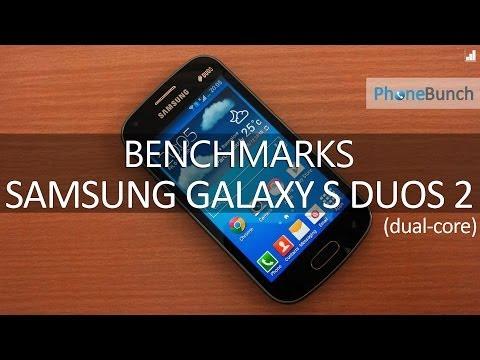 Samsung Galaxy S Duos 2 S7582 Benchmarks