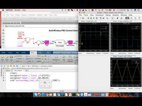 How controller input saturation limit improves highly-saturated controller?  - A Simulink demo