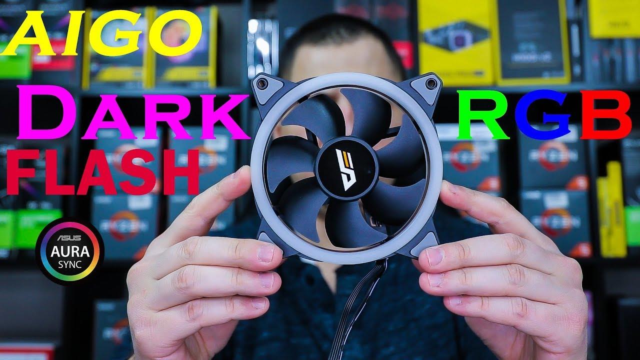 Aigo DarkFlash Aura Sync Fans Review | Best RGB Fans For The BUDGET?