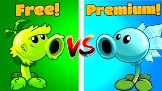 Plants vs Zombies 2 Primal Peashooter vs Snow Pea NEW
