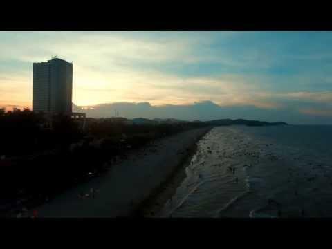 Cửa Lò beach by Phantom 3 Pro - full HD 1080