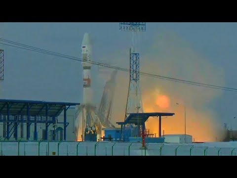 Full Roscosmos Soyuz 2-1b Meteor M2-1 And Other Satellites Launch From Vostochny Cosmodrome