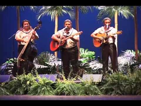 Hawaiian musicians Makaha Sons perform