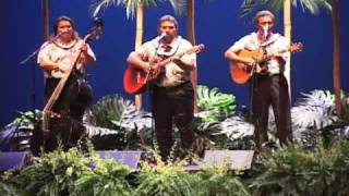 "Hawaiian musicians Makaha Sons perform ""I"