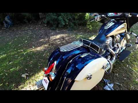 Indian Chieftain, Stage 2 Cams, Rush Warhorse exhaust, 3