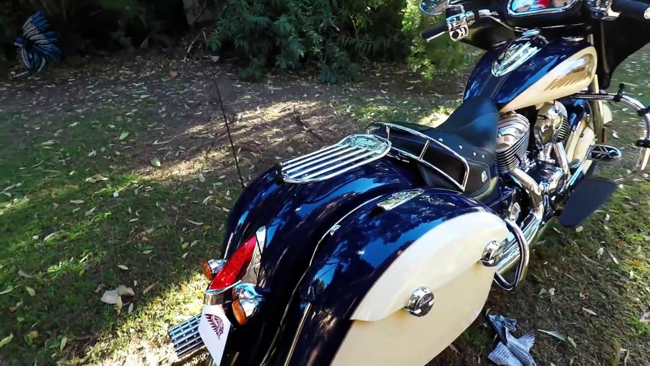 Indian Chieftain, Stage 2 Cams, Rush Warhorse exhaust, 3' baffles, Hi Flow A/C