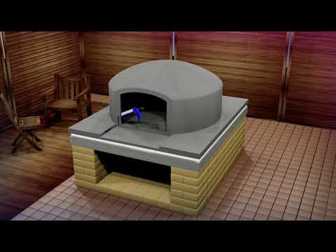Outdoor Pizza Oven Construction - Vitcas Pompeii Wood-Fired Oven