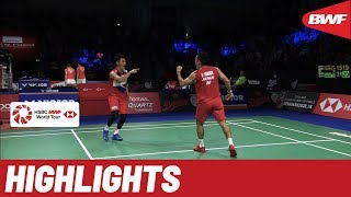DANISA Denmark Open 2019 | Quarterfinals MD Highlights | BWF 2019