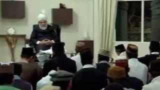Gulshan-e-Waqfe Nau (Khuddam) Class: 8th November 2009 (Part 6)