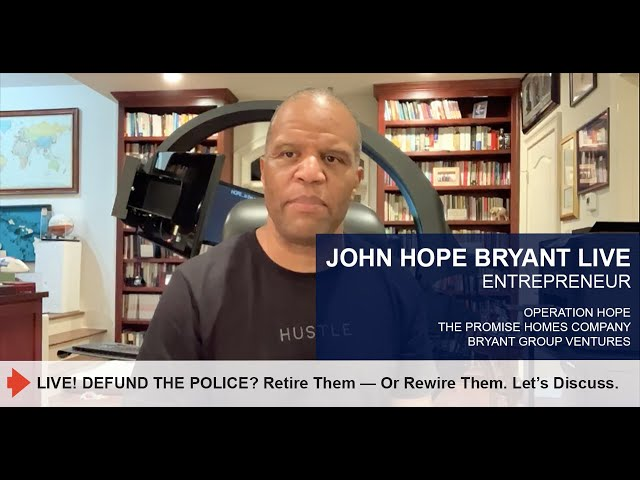 DEFUND THE POLICE? Retire Them —Or Rewire Them. Let' Discuss.