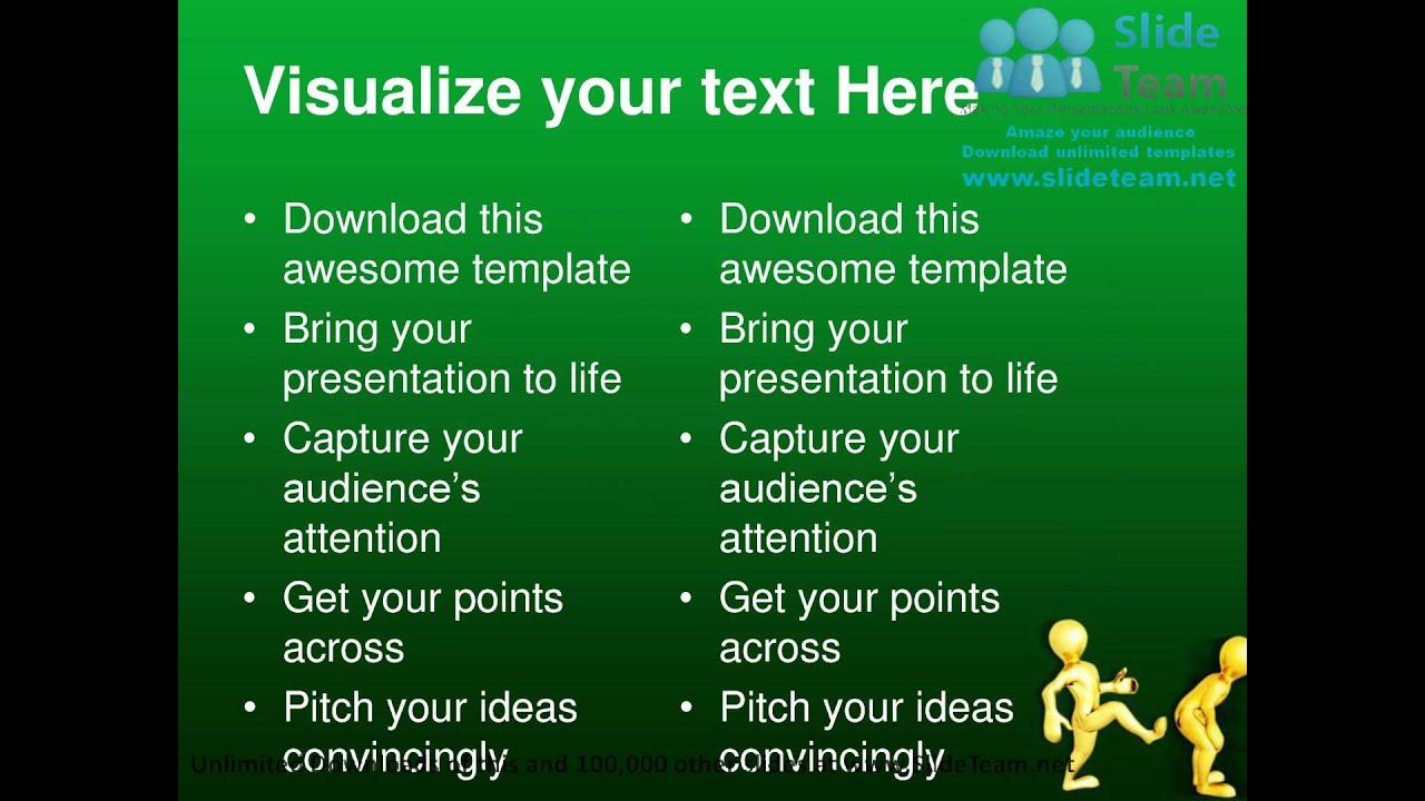 Inspirational Theme Ideas: Motivational Kick Up Business PowerPoint Templates Themes