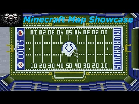 Minecraft Map Showcase: Lucas Oil Stadium