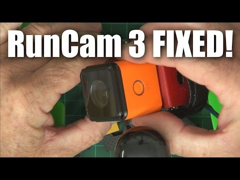 RunCam 3 HD recording camera fixed (and other stuff)
