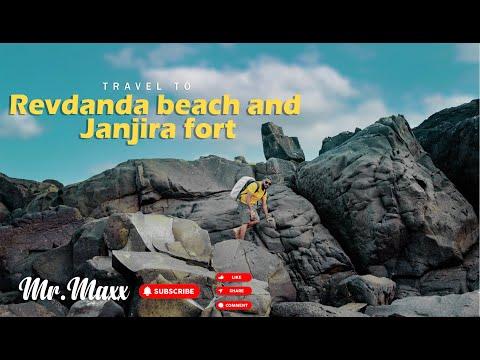 Travel To To Alibaug And Murud Janjira Cinematic Vlog #mr. Max| Travel & Events