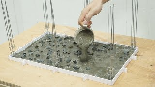 Bricklaying - Build a Mini Room Concrete (Foundation) - Part 1