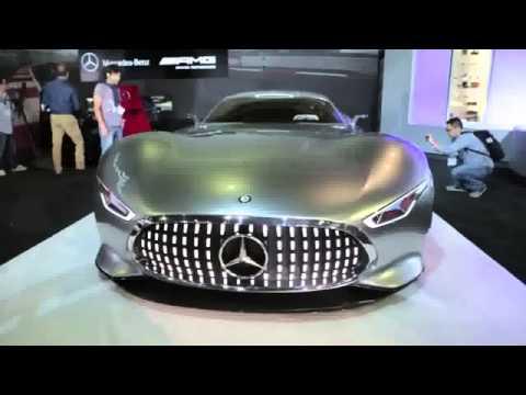 2015 car promotion Mercedes Benz AMG Vision Gran Turismo EV Concept Car LA Auto Show 2013