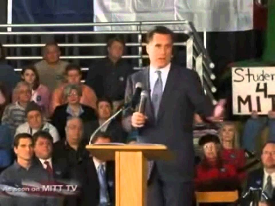 Romney In 2007 Predicts What Is Happening In Iraq With Specifics