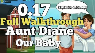 0.17 SummerTime Saga Full Walkthrough Aunt Diane The Baby Girl!