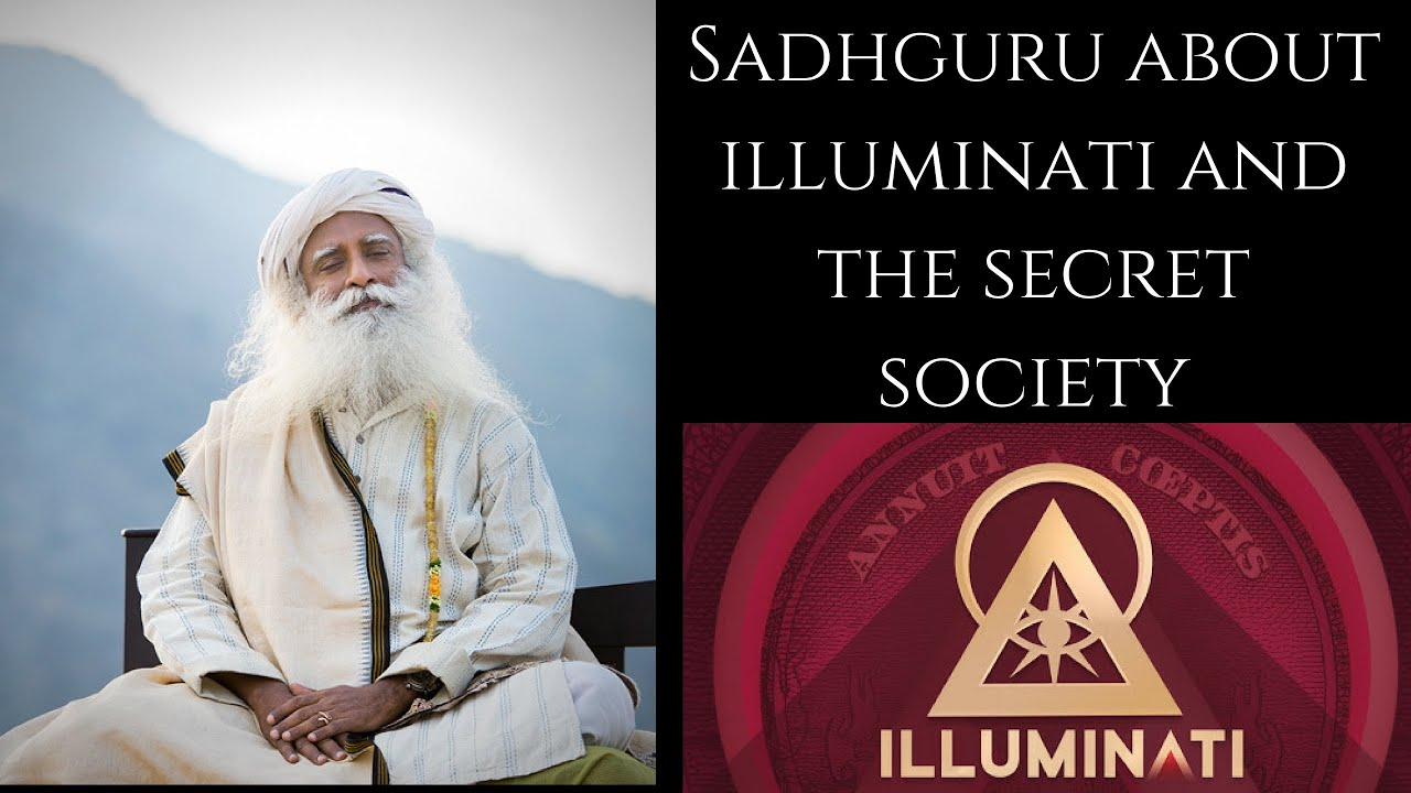 Sadhguru about Illuminati & The Secret Society | Sadhguru at JNU