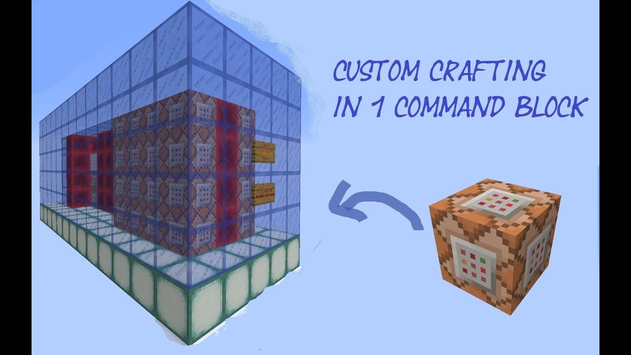 How To Make Custom Crafting Recipes In Vanilla Minecraft