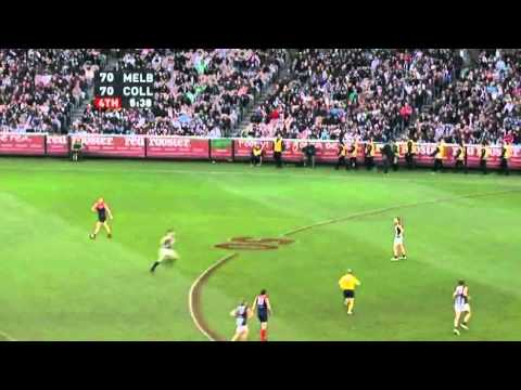Nathan Jones Smother and Matthew Bate's Goal - Round 12, 2010