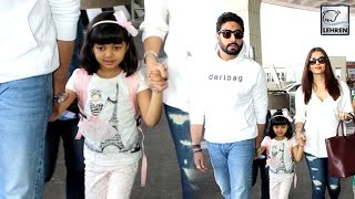 Aishwarya Rai & Aaradhya Bachchan Leave To Dubai For New Year   LehrenTV