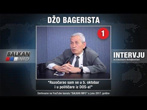INTERVJU: Džo Bagerista - Razočarao sam se u 5. oktobar i u političare iz DOS-a! (22.06.2017)