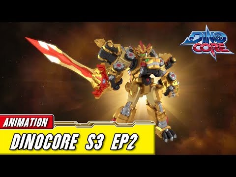 [DinoCore] Official | S03 EP02 | Dinosaur Robot Animation