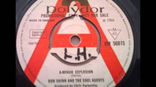 DON SHINN & THE SOUL AGENTS / a-minor explosion POLYDOR 1966