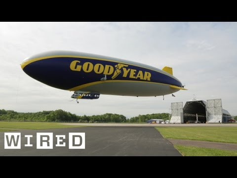 Goodyear Blimp Part 1: A New Airship Takes to the Skies - WIRED